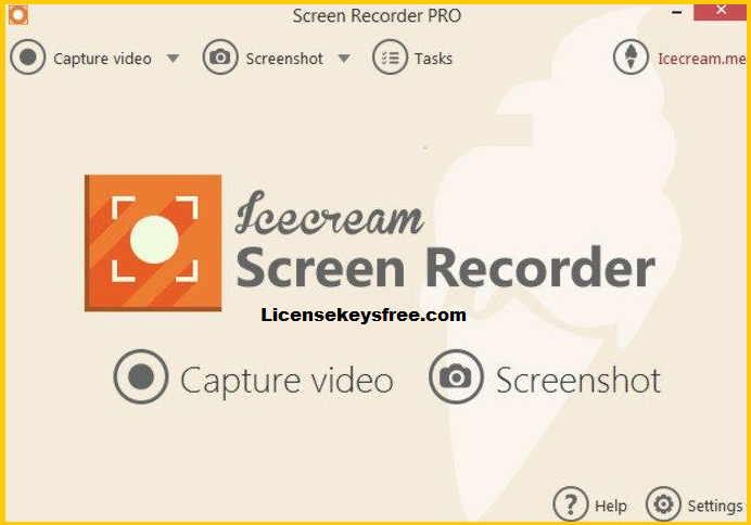 Icecream Screen Recorder Key